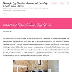 Parenthood Assured: Donor Egg Agency