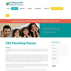 Child Parenting Skills Classes Mumbai