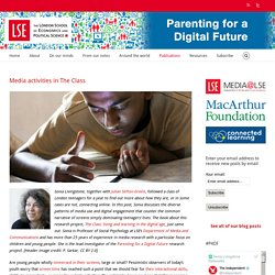 Parenting for a Digital Future – Media activities in The Class