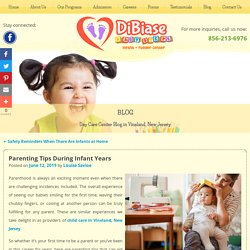 Parenting Tips During Infant Years