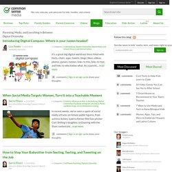 Making Sense - Common Sense Media Blog: Digital citizenship