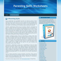 Printables Parenting Skills Worksheets printables parenting skills worksheets safarmediapps teens pearltrees 4 styles