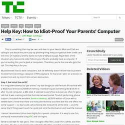Help Key: How to Idiot-Proof Your Parents' Computer
