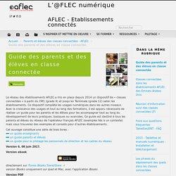 Guide des parents et des élèves en classe connectée - L'@FLEC numérique