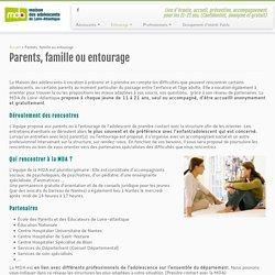 Parents, famille ou entourage