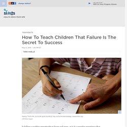 How Parents Talk About Failure Affects Children's Success