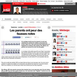 Les parents ont peur des fausses notes