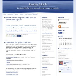 Parents à Paris