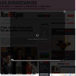 A Lyon, des ados et leurs parents face aux questions du numérique