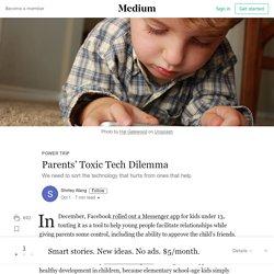 Parents' Toxic Tech Dilemma – Power Trip