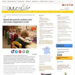 Quand des parents veulent créer une école coopérative à Lille