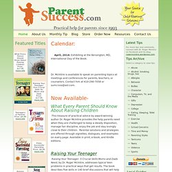 ParentSuccess.com » Top Parenting Tips, Books, and Resources