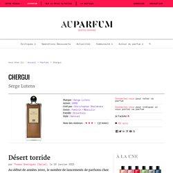 Parfum Serge Lutens - Chergui - Auparfum