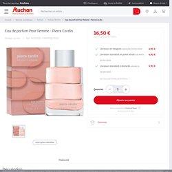 Eau de parfum Pour Femme - Pierre Cardin pas cher à prix Auchan