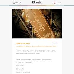 Les parfums les plus vendus internationalement sont… - OSMOZ