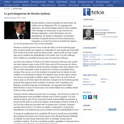 Le pari dangereux de Nicolas Sarkozy