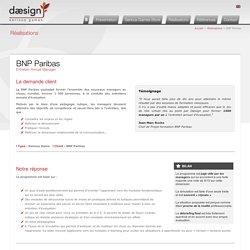 BNP Paribas Entretien Annuel Manager - Daesign E-learning
