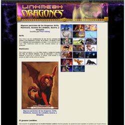 Algunos parientes de los dragones: Grifo, Manticora, Gusano de Lambton, Guivre, y Gárgolas
