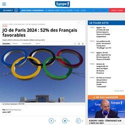JO de Paris 2024 : 52% des Français favorables