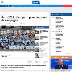 Paris 2024 : c'est parti pour deux ans de campagne !