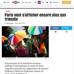 Paris veut s'afficher encore plus gay friendly