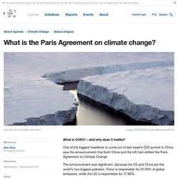 What is the Paris Agreement on Climate Change?