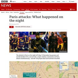 Paris attacks: What happened on the night