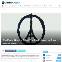 The Paris Attacks: What You Really Need to Know