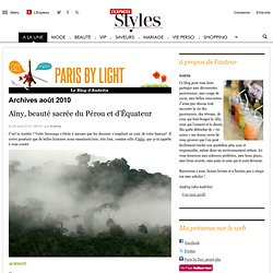 Paris by light, by Audrita - L'Express Styles