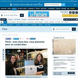 Paris : avec leurs box, vous passerez pour un cordon-bleu