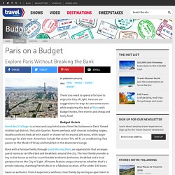 Paris on a Budget - Budget - TravelChannel.com