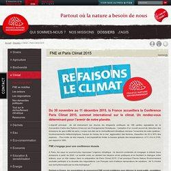 FNE Paris Climat 2015