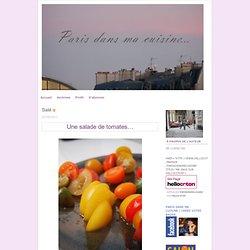 Paris dans ma cuisine...: Salé