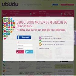 Paris : Deals et bons plans avec ubudu.com
