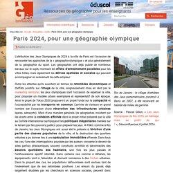 Paris 2024, pour une géographie olympique