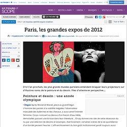 Sortir à Paris : Paris, les grandes expos de 2012