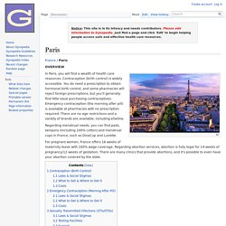 Paris - Gynopedia