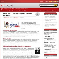 Paris JUG : Improve your sex life with Git | In Fine blog
