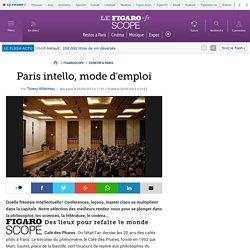Paris intello, mode d'emploi