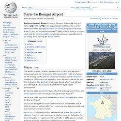 Paris–Le Bourget Airport