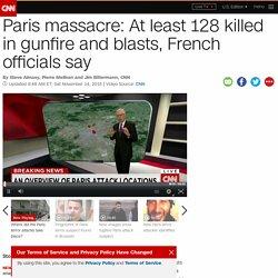 Paris shootings: 18 reported killed
