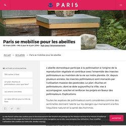 Paris se mobilise pour les abeilles