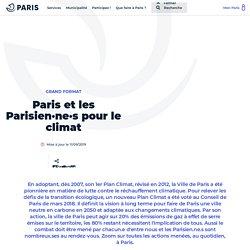 Paris et les Parisien·ne·s pour le climat - Ville de Paris