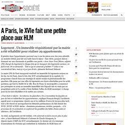 A Paris, le XVIe fait une petite place aux HLM