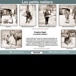 Paris petits métiers XIX siècle
