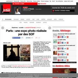 Paris : une expo photo réalisée par des SDF