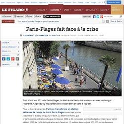 Paris-Plages fait face à la crise