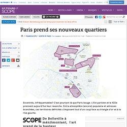 Paris prend ses nouveaux quartiers