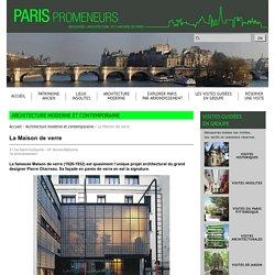 Paris Promeneurs - La Maison de verre