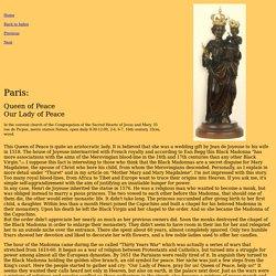 Paris,Queen-of-Peace - add to Paris Map
